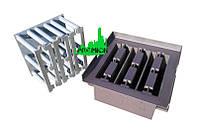Матрица «Заборный блок х3″ для производства заборного блока