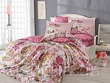 Комплект постельного белья сатин тм Hobby евро размер Rosanna