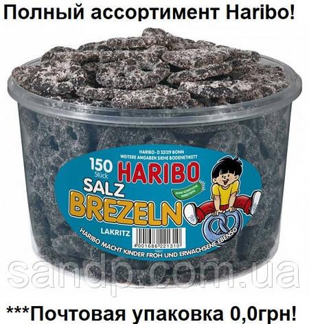 Желейные конфеты Лакричные крендельки  Харибо Haribo 1050гр. 10шт., фото 2