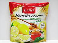 Чай Bastek с вкусом лимона и мёда 40 пак.