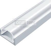 Алюминиевый профиль для светодиодных лент Biom Профиль алюм. LED BIOM ЛП7 6*15,5 неанод. (палка2м)