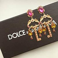 Серьги Dolce & Gabbana Ключики