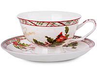 Чайный набор Lefard Новогодняя коллекция 2 предмета, 924-133