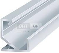 Алюминиевый профиль для светодиодных лент Biom Профиль алюм. LED BIOM угловой ЛПУ17 17*17 анод. (палка2м)