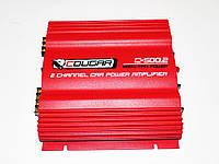 Усилитель Звука Автомобильный Cougar 500.2 - 1000Вт - 2-х канальный , фото 1