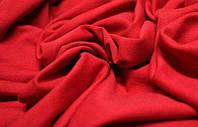 Ткань Двунитка Красная (Алый)