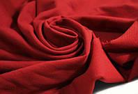 Ткань Двунитка Темно красная