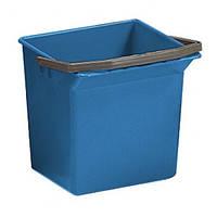 Ведро для уборки с ручкой 6л (Синего цвета)