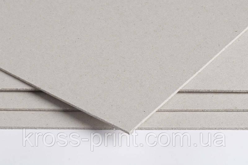 Картон для переплета толщ. 2мм, Форматный (от А4+ до А2). Европа
