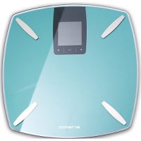Весы напольные POLARIS PWS 1850DGF электронные диагностика Бирюзовый