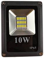 "Прожектор светодиодный ТМ ""220"" Прожектор LED-Sle- 10W 220В 800lm 6500K кут 120 Slim Elite (50) (ТМ 220)"