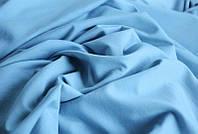 Ткань Двунитка Голубая