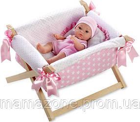 Кукла 33 см Dana Rosa с кроваткой Arias 60145