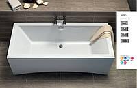 Ванна акриловая прямоугольная Cersanit Intro 150x75
