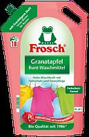 Рідина для прання Фрош Granatapfel для кольорових тканин Гранат1,8л. (18 прань).