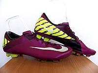 Бутсы Nike Mercurial Miracle II FG 100% Оригинал  р-р 45 (29см) (сток, б/у) футзалки бампы копы сороконожки