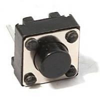 Кнопка тактовая 6х6х5мм 2-х контактная