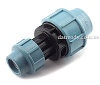 Муфта редукционная 25х40 для полиэтиленовых пнд труб (Santehplast), фото 1