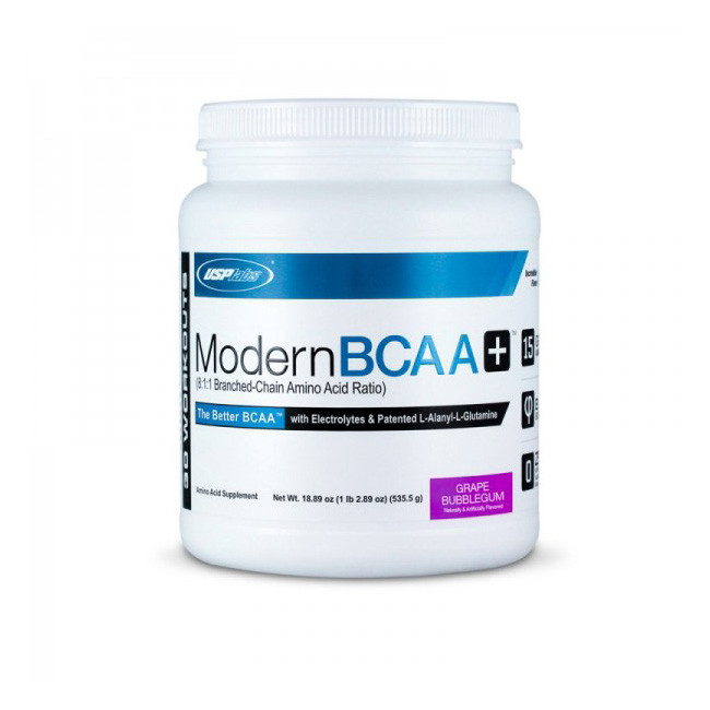 USP Labs Modern BCAA+ 535 g, ЮСП Лабс Модерн БЦА+ 535 грамм