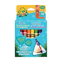 Crayola, 16 трехгранных восковых мелков
