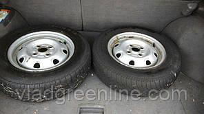 Жигулевские колеса в сборе Б/У (для тяжелых мотоблоков и прицепов)