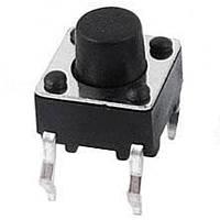 Кнопка тактовая 6х6х6мм 4-х контактная