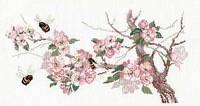 Набор для вышивания крестом Риолис 0635 Ветка яблони