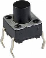 Кнопка тактовая 6х6х7мм 4-х контактная