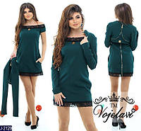 Женское платье + болеро №522-3