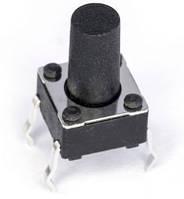 Кнопка тактовая 6х6х10мм 4-х контактная