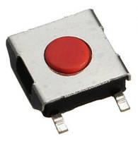 Кнопка тактовая 6х6х2,5мм 4-х контактная