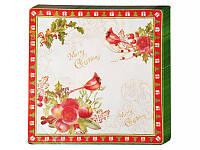 Салфетки бумажные Lefard Новогодняя коллекция 33х33 см