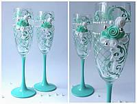 Набор свадебных бокалов для шампанского Rona Gala 200 мл х 2 шт (1566)