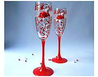 Набор свадебных бокалов для шампанского Rona Gala 200 мл х 2 шт (1562)