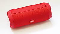 Колонка Портативная Беспроводная (Bluetooth) JBL Charge 3+ Красная(Реплика), фото 1