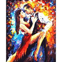 "Картины раскраски по номерам ""Танго в Париже"" набор для творчества"