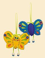 Набор для вышивания крестом Риолис 1407АС Солнечная бабочка