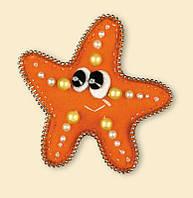 Набор для вышивания крестом Риолис 1410АС Морская звезда
