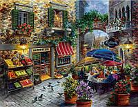 """Картины раскраски по номерам """"Летнее кафе"""" набор для творчества"""