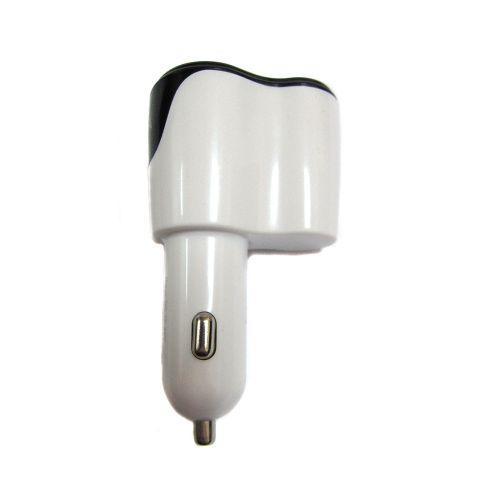 Автомобильная зарядка от прикуривателя 2 USB 12v YZD-330, фото 1
