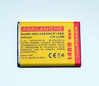 АКБ Avalanche для Samsung S5660,S5830,S5670,B7510 Calaxy PRO,B7800 Calaxy M PRO  - 1400 мАч