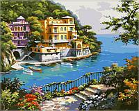 """Картины по номерам """"Нарисованный рай"""" 40х50см, С Коробкой"""