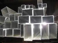 Труба алюминиевая 120х40х2,0мм 6060