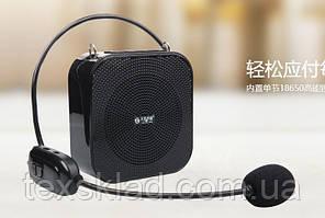Підсилювач голосу з бездротовим мікрофоном T900 20W (USB/акумулятор)