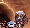 Чашка Старбакс с крышкой