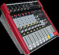 Активный микшерный пульт MixMaster ST-62P USB/SD+Радио пульт