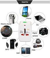 Универсальный сетевой адаптер для всех типов розеток и вилок