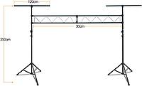 П-образная стойка для световых приборов LS-65