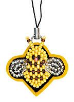 Наборы для плетения и вышивания Riolis 1440АС Брелок Пчелочка