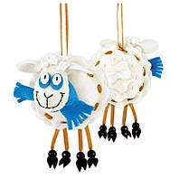 Наборы для плетения и вышивания Riolis 1442АС Овечка Снежок